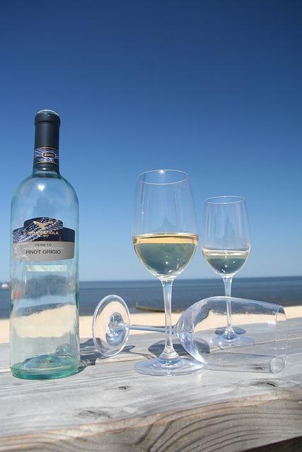 Sylt, Wine, Summer, Beach, Holiday, Wine Glass