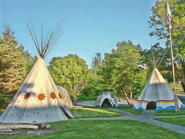 Tent, Tipi, Pow Wow, Tepee, Indian, Summer, Typical