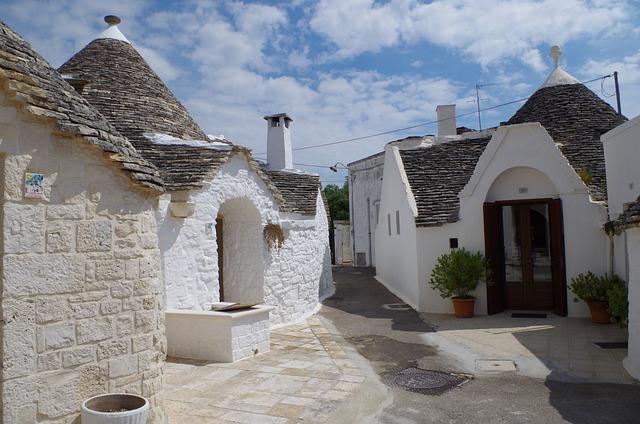 Alberobello, Puglia, Trulli, Apulia, Italy, Summer