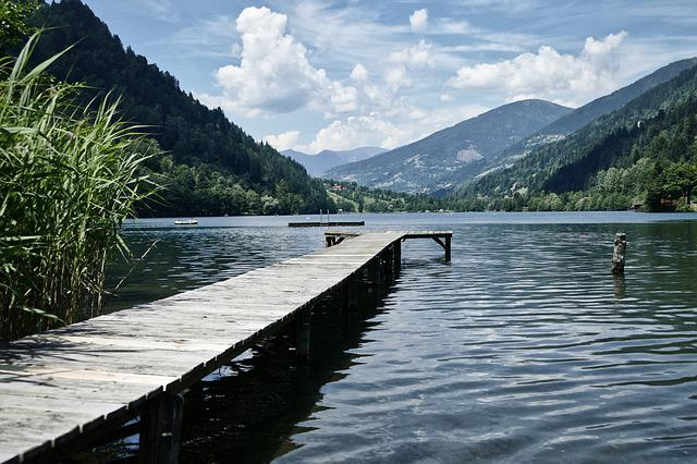 Lake, Steeg, Water, Tourism, Summer, Vacations