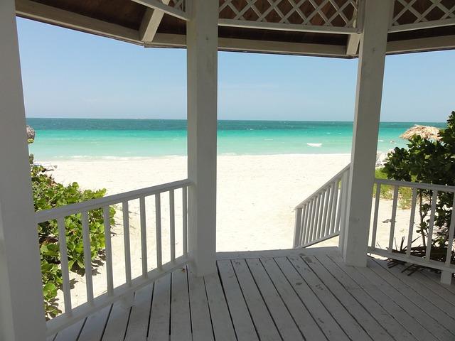 Cuba, Varadero, Beach, Wood, Shadow, Summer