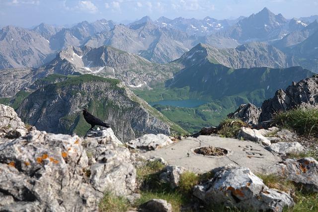 Rough Horn, Summit, Outlook, Alpine, Allgäu