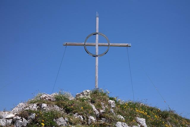 Summit Cross, Bschiesser, Mountain, Allgäu, Summit