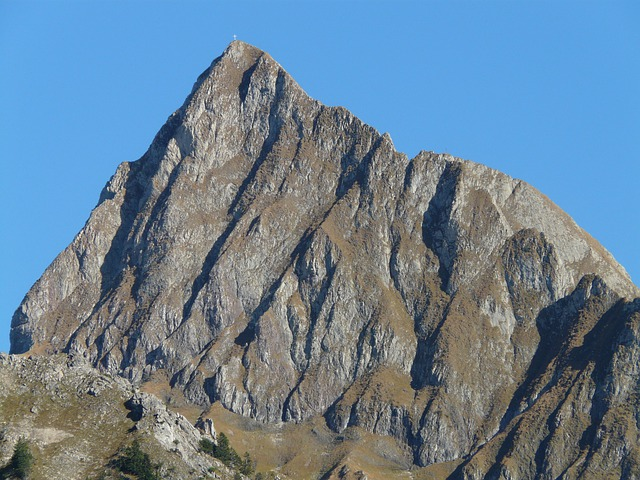 Höfats, Mountain, Summit Cross, Cross, Hiking