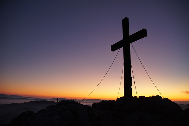 Summit Cross, Peak Happiness, Hochlantsch, Mountain