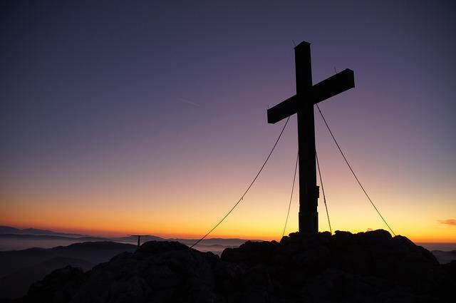 Summit Cross, Peak Happiness, Hochlantsch, Mountain