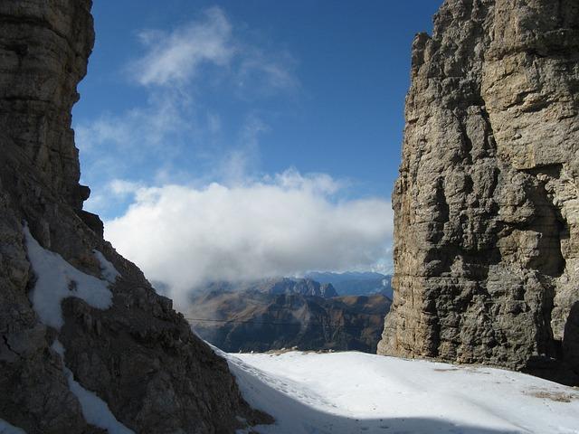 Mountains, Snow, Summit, Dolomites, Outlook