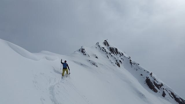 Backcountry Skiiing, Allgäu, Summit, Elfer Ostgipfel