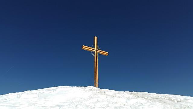 Summit Cross, Summit, Kuhgehrenspitze, Kleinwalsertal