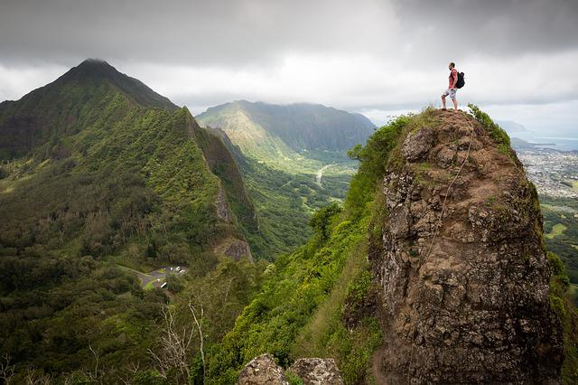 Mountaineer, Peak, Summit, Adventure, Forest, Hiker