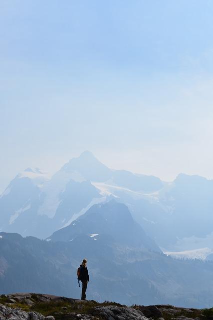 Nature, Outdoors, Mountain, Peak, Hiking, Summit