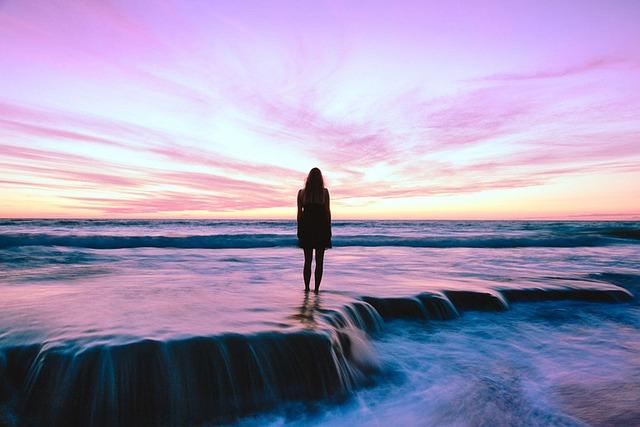 Beach, Sea, Sunset, Sun And Sea, Abendstimmung