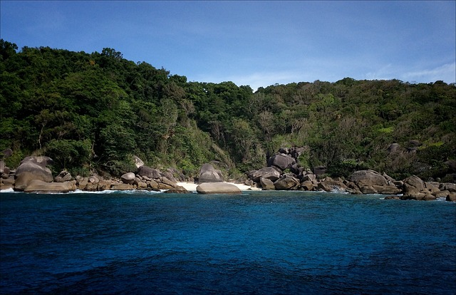 Thailand, Beach, Sun, Similan Islands