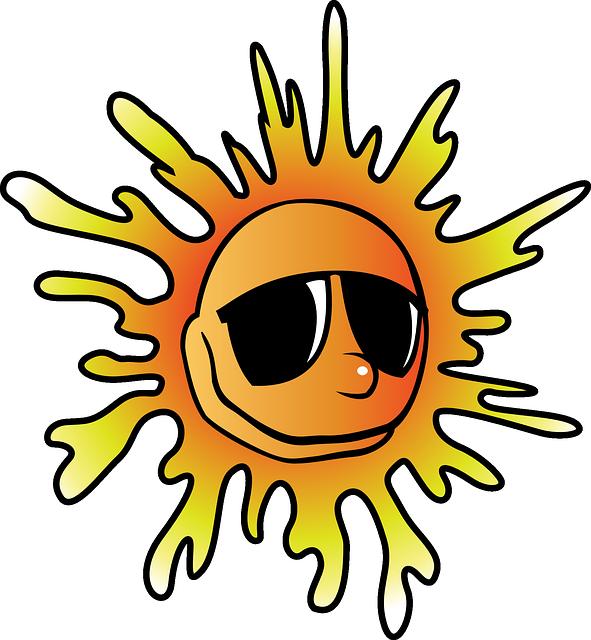 Heat, Summer, Sun, Cool, Sunglasses, Beach, Glasses