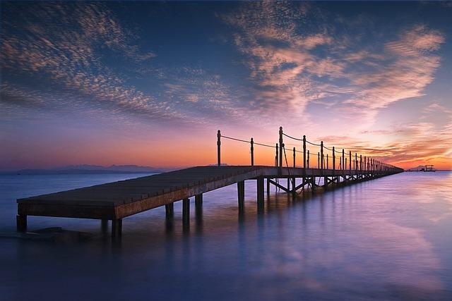 Sunset, Water, Sea, Dusk, Dawn, Sky, Sun, Seashore