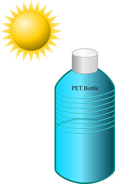 Bottle, Disinfection, Solar, Sun, Water, Pet, Suncream