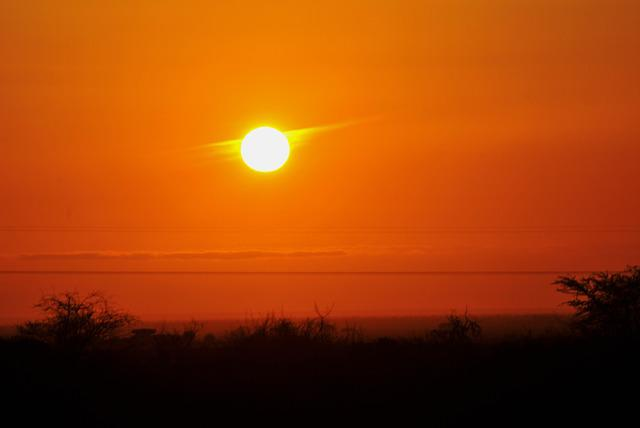 Sunset, Sky, Sun, Evening, Glow, Orange, Scenery
