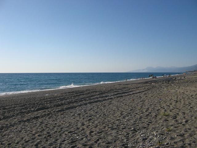 Calabria, Belmonte Calabro, Beach, Sea, Landscape, Sun