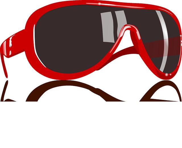 Red, Sunglass, Eyewear, Protective, Eyes, Glasses, Sun