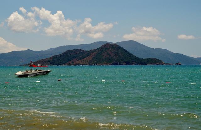 Turkey, Marmaris, Sea, Summer, Rowboat, Holidays, Sun