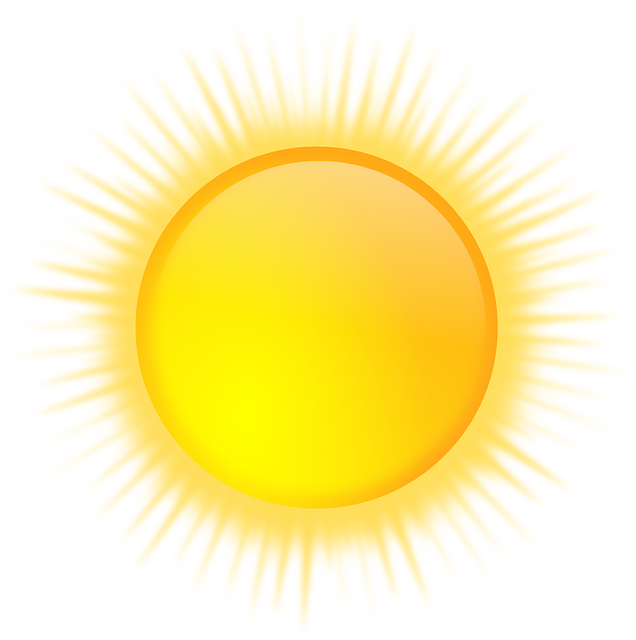 Sun, Sunny, Weather, Sunshine, Yellow, Forecast