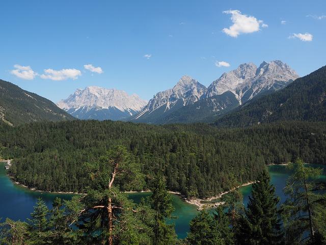 Far Right, Blindsee, Zugspitze Massif, Sun Top