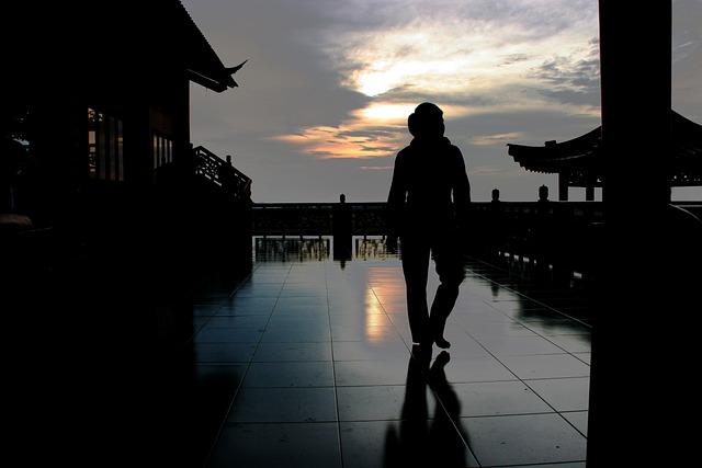 Silhouette, Dark, Sundown, Vietnam, Saigon, Night, Sky