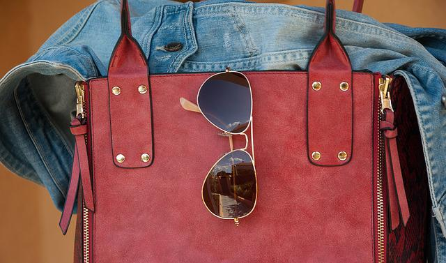 Bag, Sunglasses, Jacket