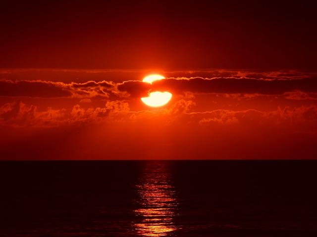 Sea, Horizon, Sunset, Sunlight, Sunrise, Dusk, Dawn