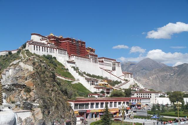 Lhasa, The Potala Palace, Sunny Days