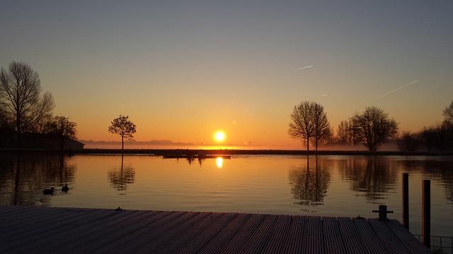 Amsterdam, Amstel, Sunrise