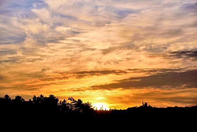 Sunrise, Sun, Bulgaria, Summer, Color