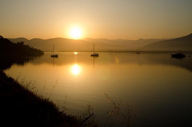 Turkey, Fethiye, Sunrise