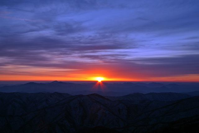Sunrise, Sea, Solar, Landscape, Red, Hope, Orange, Glow