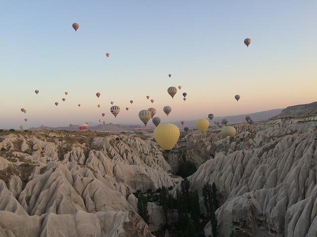 Hot Air Balloon, Cappadocia, Sunrise