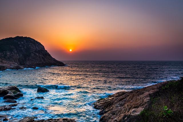 Sunrise, Sea, Font Font Sky Font Font