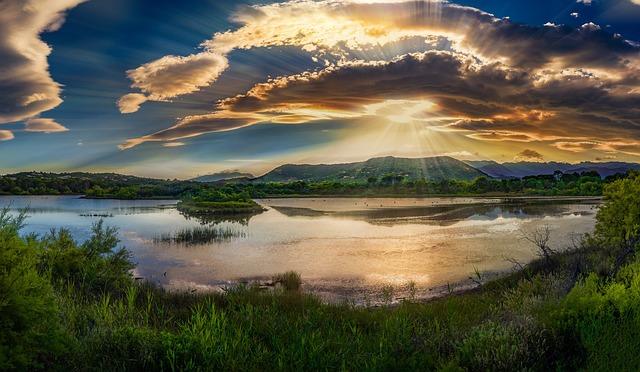 Sunrise, Sky, Morning, Clouds, Beautiful, Sunny, Blue