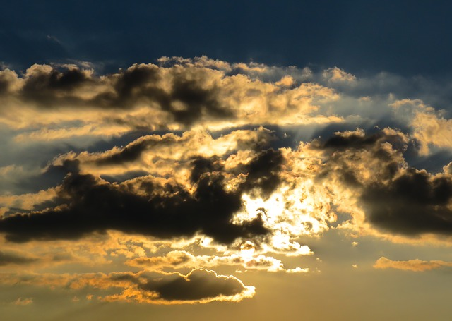 Nature, Sky, Clouds, Sunset, Sunrise, Sunlight, Sun