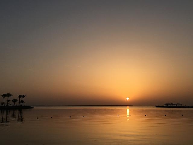 Egypt, Tiger Garda, Sunrise