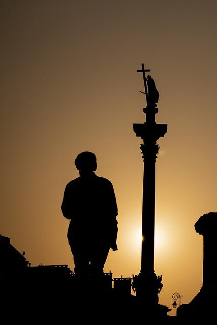 The Silhouette, Sunset, Travel, Sky, City, Architecture