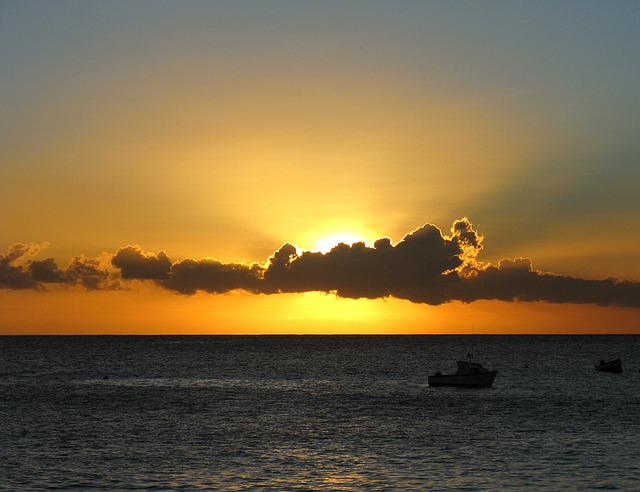Sunset, Clouds, Brilliant, Carlisle Bay, Barbados