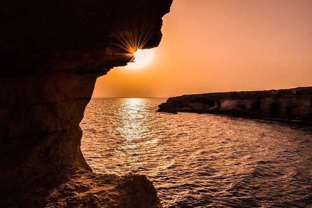 Sunset, Landscape, Nature, Sun, Caves, Nature Landscape