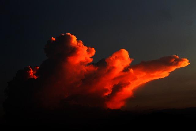 Clouds, Sunset, Landscapes, Golden Sunset, Sky