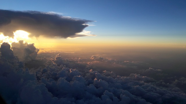 Clouds, Travel, Sunset