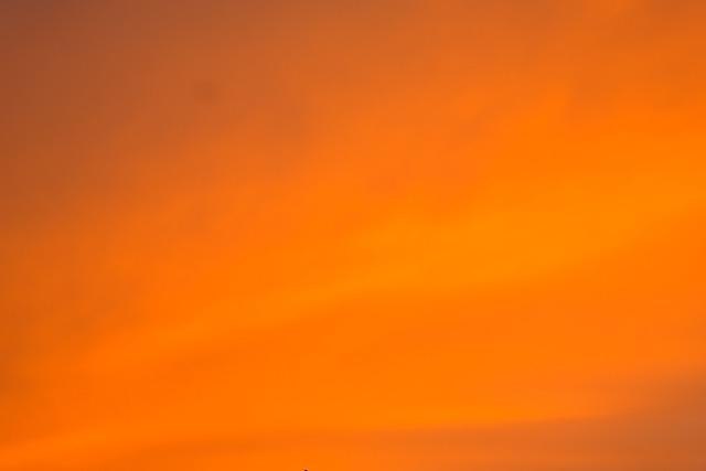 Sky, Coloring, Sunset, Evening Sky, Orange, Colored