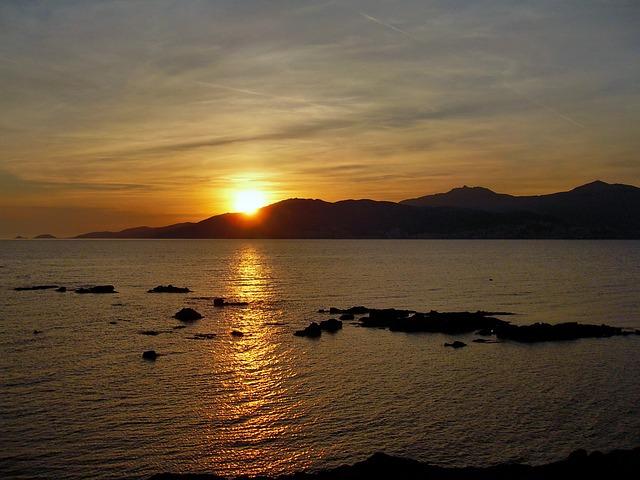 Corsican, Ajaccio, Sunset, Bloodthirsty, Sea