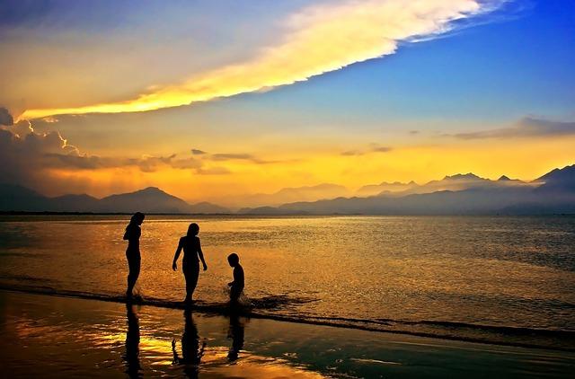 Sunset, Sundown, Da Nang Bay, Danang City