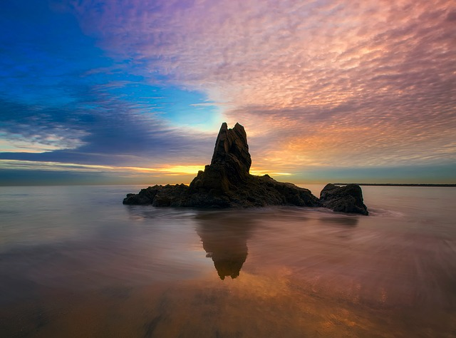 Newport Beach, California, Sunset, Dusk, Sky, Clouds