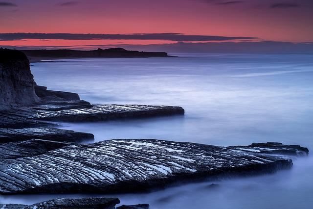 Water, Sunset, Sea, Dusk, Seashore, Seascape, Ocean