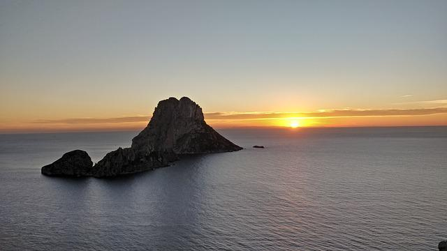 Ibiza, Es Vedra, Sunset, Spain, Eivissa